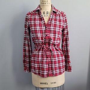 Roots Plaid Button-down Shirt